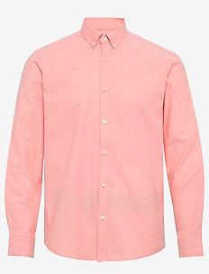 Shirts woven - basic overhemden - coral 5