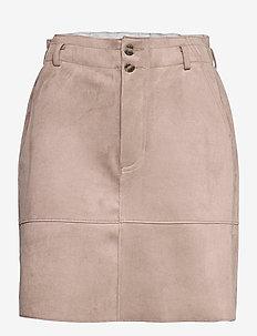Skirts woven - korte nederdele - taupe