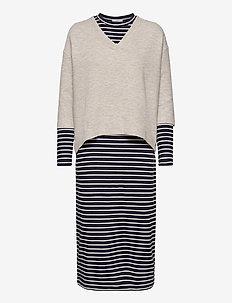 Dresses knitted - sommerkjoler - light grey 5
