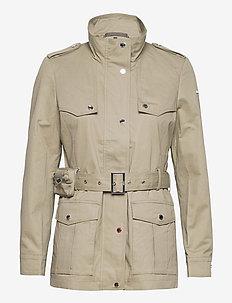 Jackets outdoor woven - vestes utilitaires - pale khaki