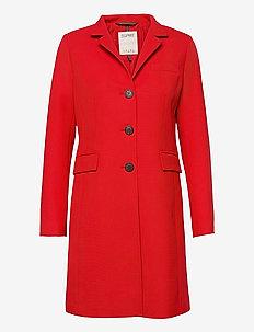 Coats woven - manteaux legères - red