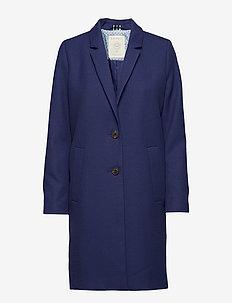 Coats woven - cienkie płaszcze - ink