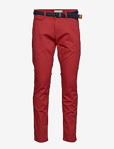 Pants woven - RED