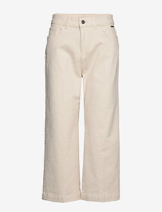 Pants woven - wide leg trousers - ice