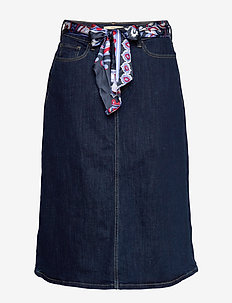 Skirts denim - denimnederdele - blue rinse