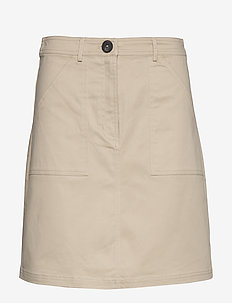 Skirts woven - short skirts - beige