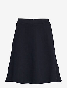 Skirts knitted - short skirts - navy
