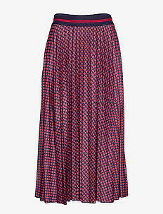 Skirts knitted - midinederdele - navy 4
