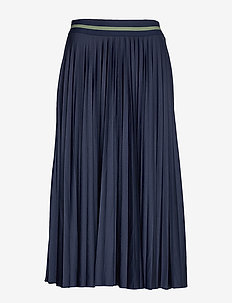 Skirts knitted - midinederdele - navy