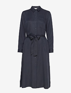 Dresses light woven - shirt dresses - navy