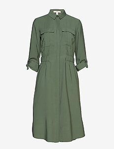 Dresses woven - shirt dresses - khaki green