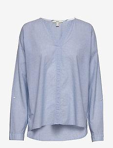 Blouses woven - langærmede bluser - light blue