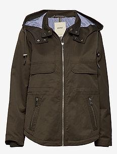 Jackets outdoor woven - lette jakker - dark khaki