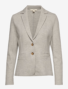 Jackets indoor knitted - blazers - light grey 5
