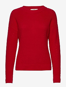 Sweaters - jumpers - dark red