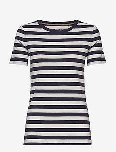 T-Shirts - stribede t-shirts - navy