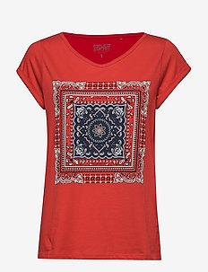 T-Shirts - t-shirty - dark red