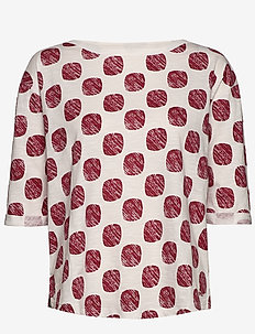 T-Shirts - langærmede toppe - dark red