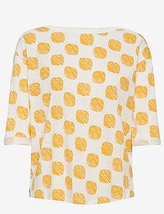 T-Shirts - langærmede toppe - yellow