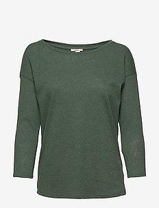 T-Shirts - langærmede toppe - khaki green