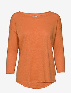 T-Shirts - langærmede toppe - rust orange