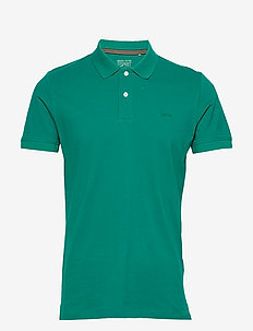 Polo shirts - short-sleeved polos - bottle green