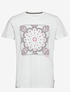 T-Shirts - kortærmede t-shirts - white