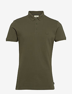 Polo shirts - short-sleeved polos - dark khaki
