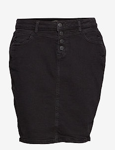 Skirts denim - denim skirts - black dark wash