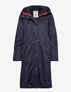 Coats woven - cienkie płaszcze - navy