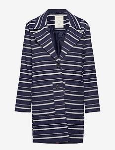 Coats woven - lette frakker - navy