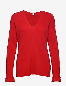 Sweaters - pulls - dark red