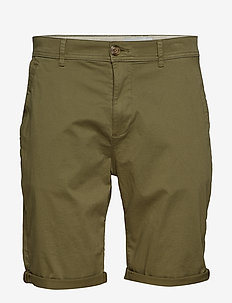 Shorts woven - chinos shorts - olive