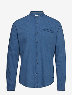 Shirts woven - BLUE MEDIUM WASH