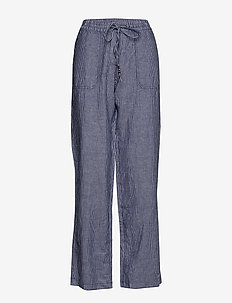 Pants woven - casual trousers - dark blue 3