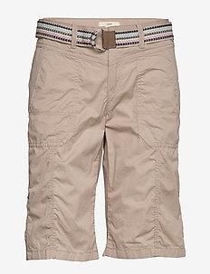 Shorts woven - chino shorts - beige