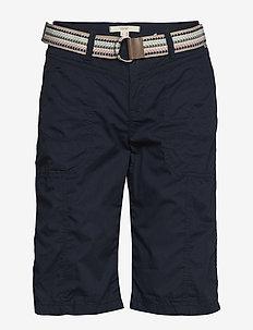 Shorts woven - chino short - navy