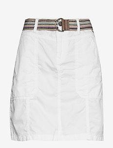 Skirts woven - korte rokken - white