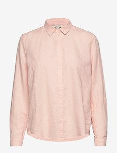 Blouses woven - langermede skjorter - light pink