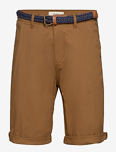 Shorts woven - spodenki chinos - camel