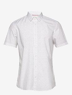 Shirts woven - overhemden korte mouwen - white 4
