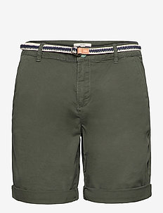 Shorts woven - short chino - khaki green