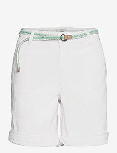 Shorts woven - chino short - white