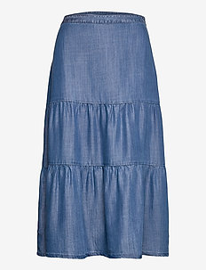 Skirts denim - jeanskjolar - blue medium wash
