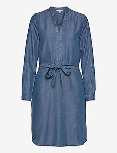 Dresses denim - denimkjoler - blue medium wash