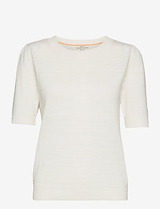 Sweaters - strikkede toppe - off white