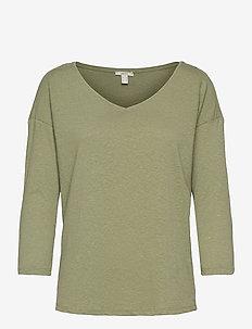 T-Shirts - long-sleeved tops - light khaki