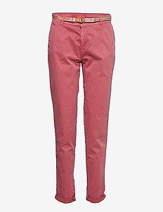 Pants woven - pantalons droits - blush