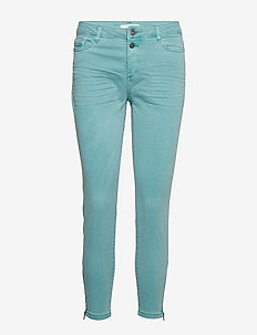 Pants woven - skinny jeans - light aqua green