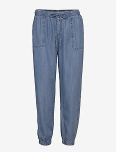 Pants denim - casual broeken - blue medium wash